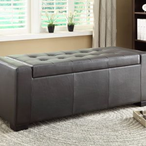 HOM4603PU Ottoman With Storage Reg $399.90 Now $310.90