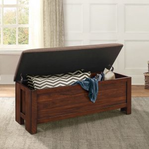 HOM5415RF-FBH Wood Ottoman With Storage Reg $469.90 Now $349.90