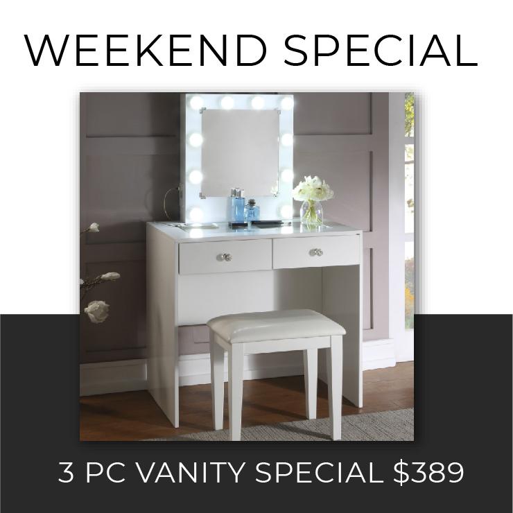 3 PC Vanity Special